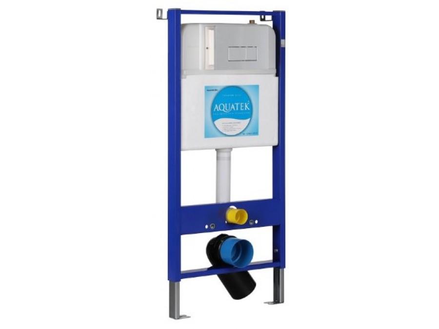 Инсталляция для унитаза Set Aquatek Slim (4 в одном)