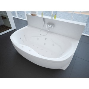 Ванна акриловая Акватек Мелисса 180 см