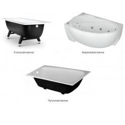 Сталь, чугун или акрил? Какая ванная лучше?
